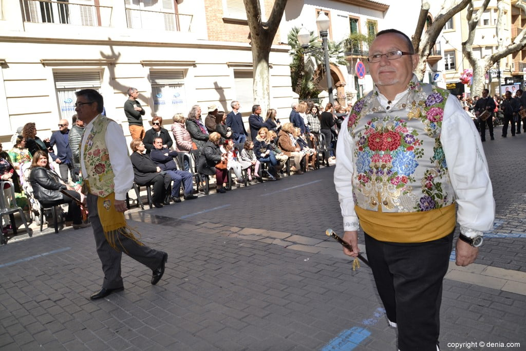 Offering Fallas Dénia 2019 - Former Presidents of the JLF