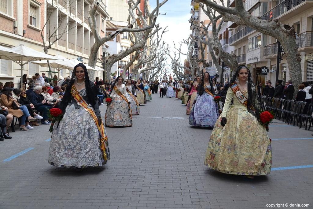 22 2019 Offering Dénia Fallas - Falla Les Roques