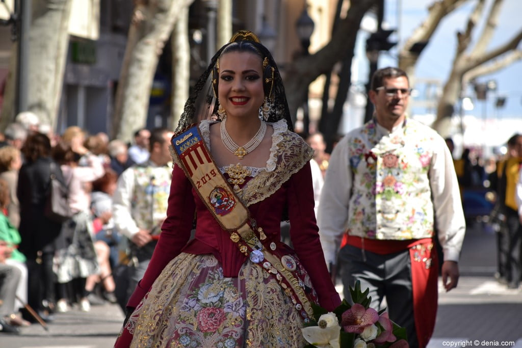22 2019 Offering Fallas Denia - Falla Oeste