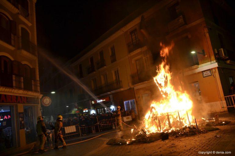23 Cremà of the failure of the Local Board Fallera 2019 - Fire