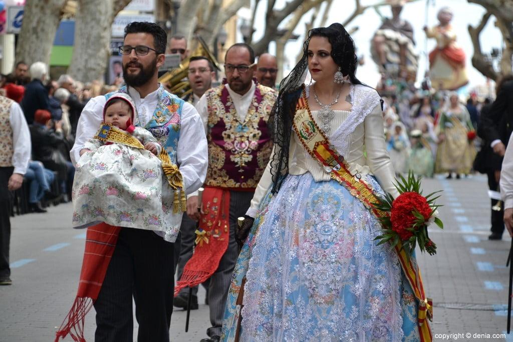 23 Ofrenda Fallas Dénia 2019 – Falla Les Roques
