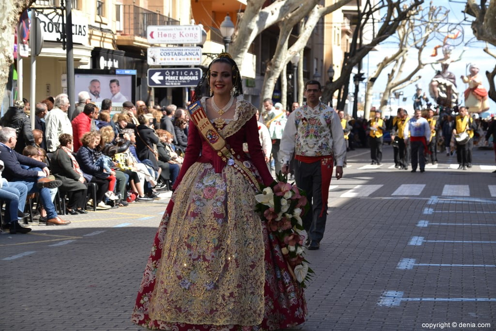 23 2019 Offering Fallas Denia - Falla Oeste