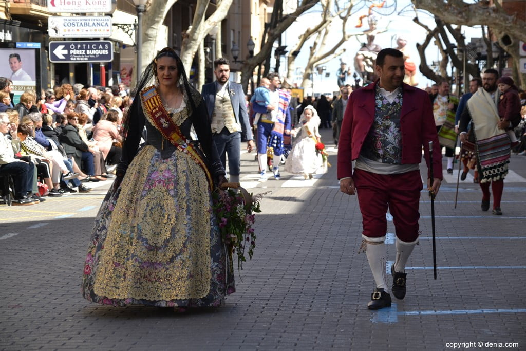 24 2019 Offering Dénia Fallas - Falla Baix la Mar