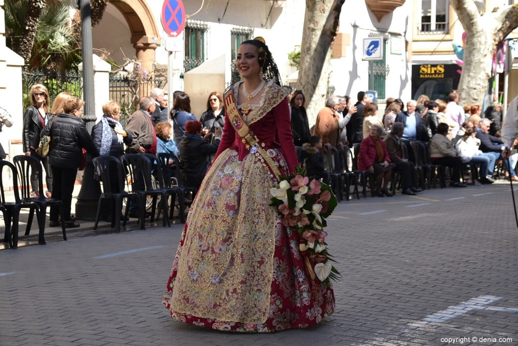 24 2019 Offering Fallas Denia - Falla Oeste
