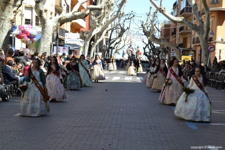Offering Fallas Dénia 2019 - Children's Court of Honor
