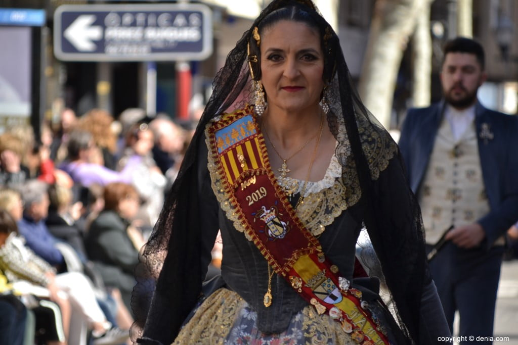 25 2019 Offering Dénia Fallas - Falla Baix la Mar
