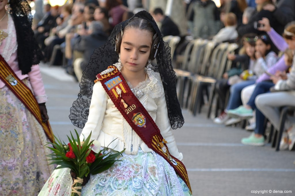 Fallas Dénia Offering 2019 - Children's honor court