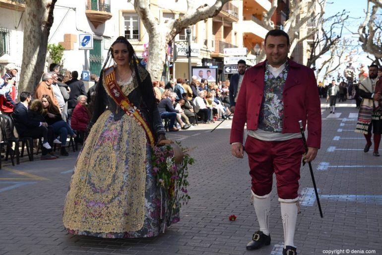 26 Ofrenda Fallas Dénia 2019 - Falla Baix la Mar