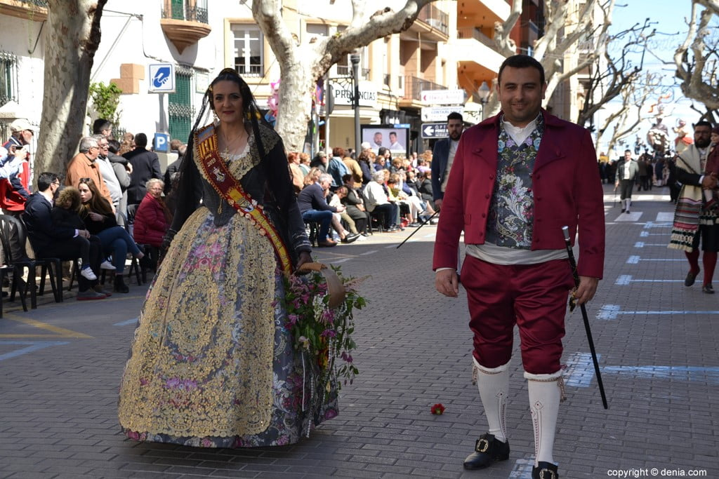 26 2019 Offering Dénia Fallas - Falla Baix la Mar