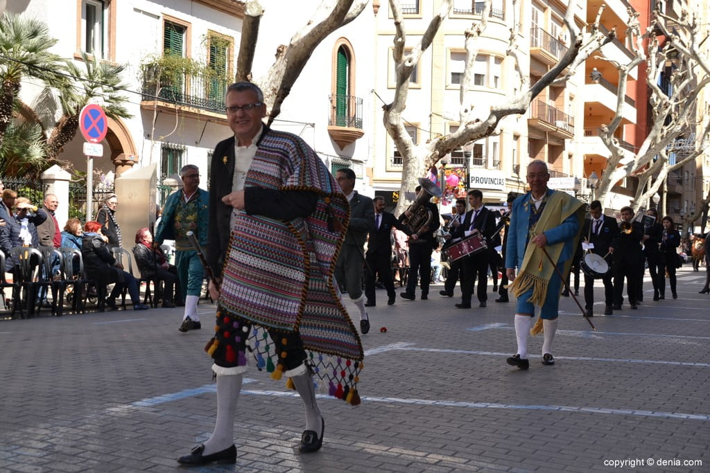 28 2019 Offering Dénia Fallas - Falla Baix la Mar