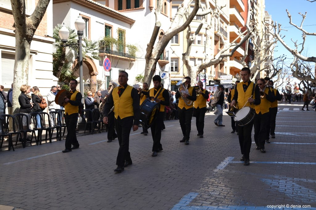 28 2019 Offering Fallas Denia - Falla Oeste