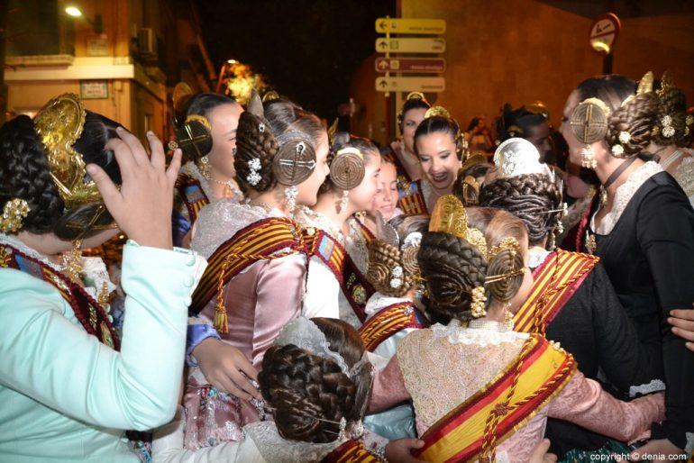31 Cremà de la falla de la Junta Local Fallera 2019 - abrazo