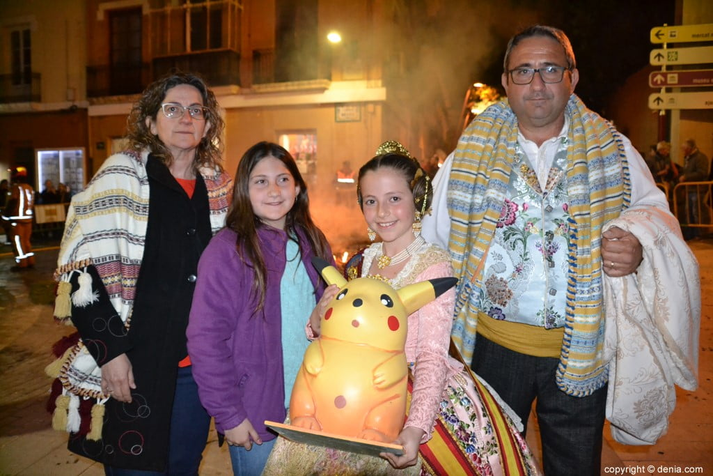 32 Cremà de la falla of the Local Board Fallera 2019 - Neus family