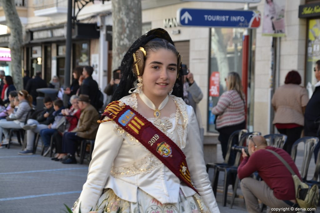 Offering Fallas Dénia 2019 - Court of honor for children