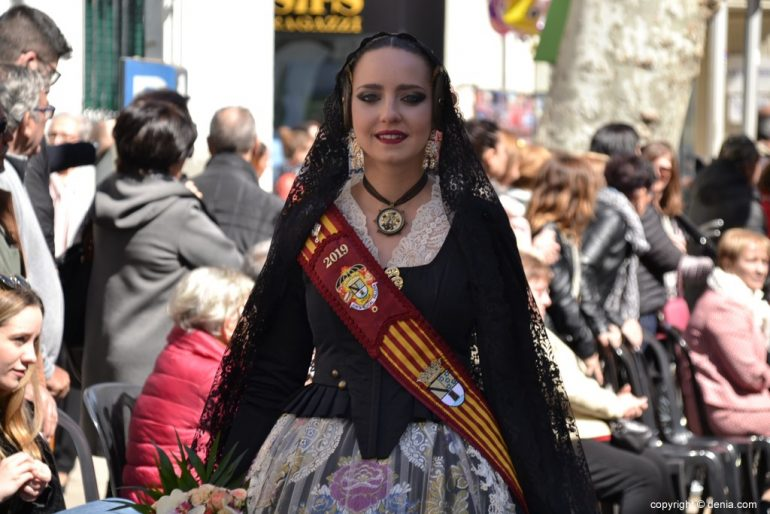 Offering Fallas Dénia 2019 - Court of Honor