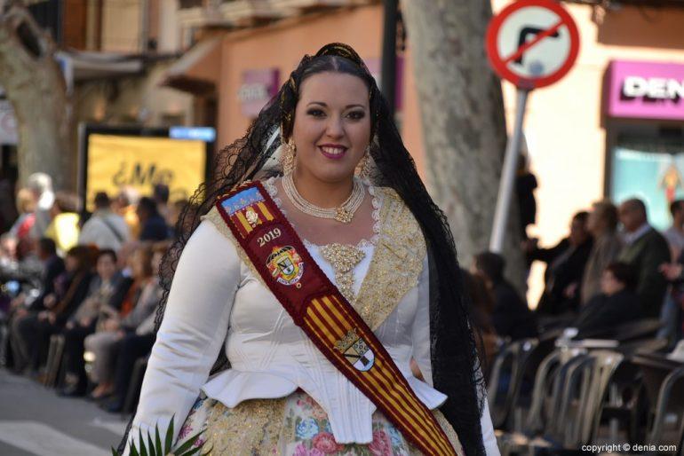 Ofrenda Fallas Dénia 2019 - Corte de honor