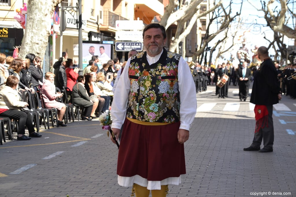 Ofrenda Fallas Dénia 2019 – Presidente JLF