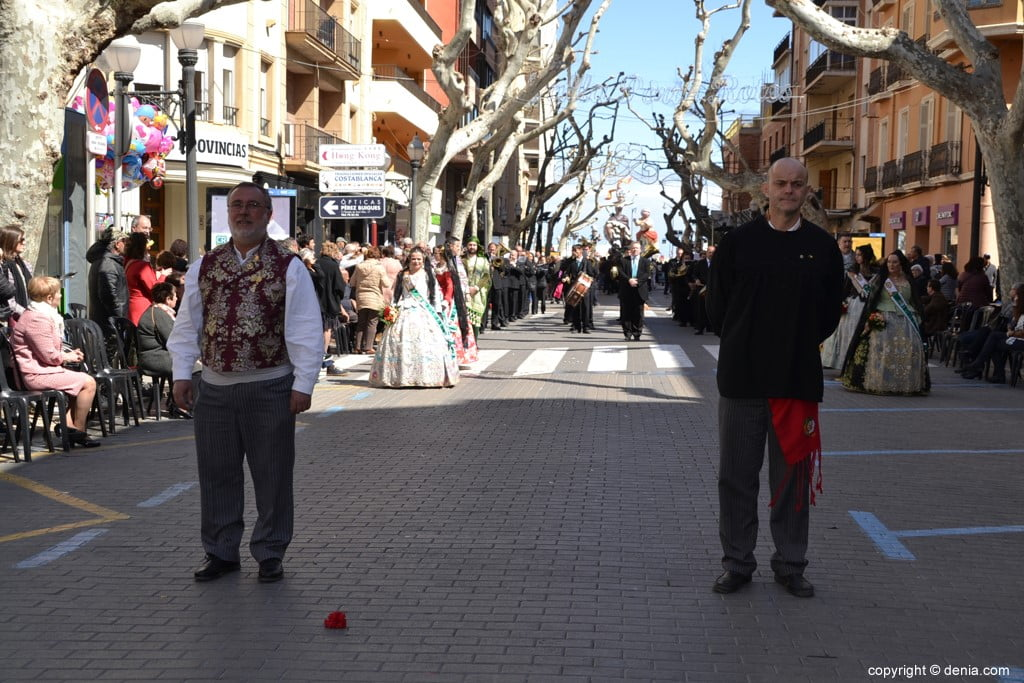 Offering Fallas Dénia 2019 - Town Crier and Fallero Exemplary