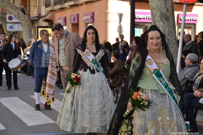 Offering Fallas Dénia 2019 - Local Board Fallera