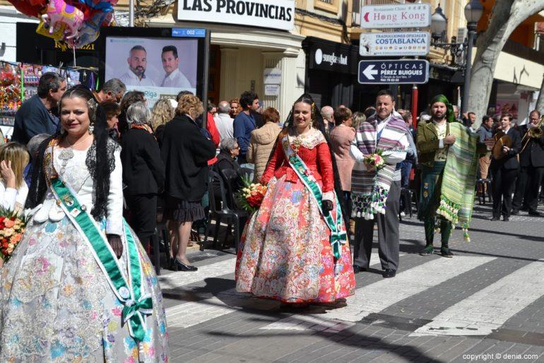Ofrenda Fallas Dénia 2019 - Junta Local Fallera