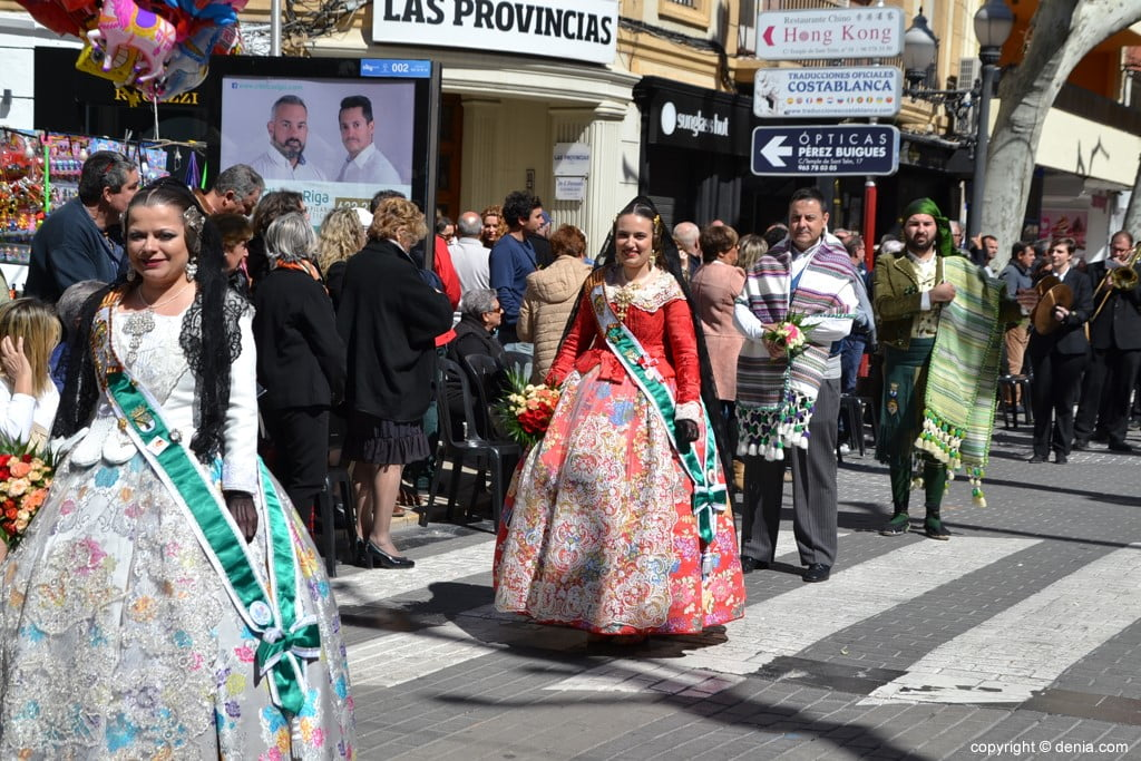 Fallas Dénia Offering 2019 - Local Fallera Board