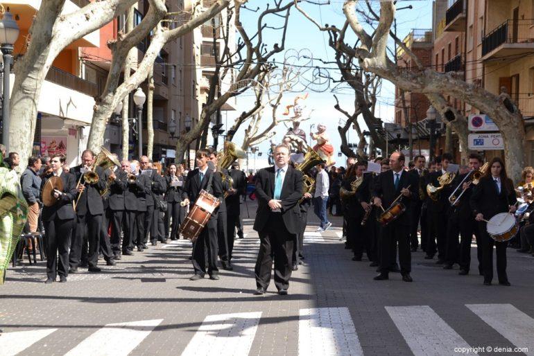 Offering Fallas Dénia 2019 - Banda de Dénia