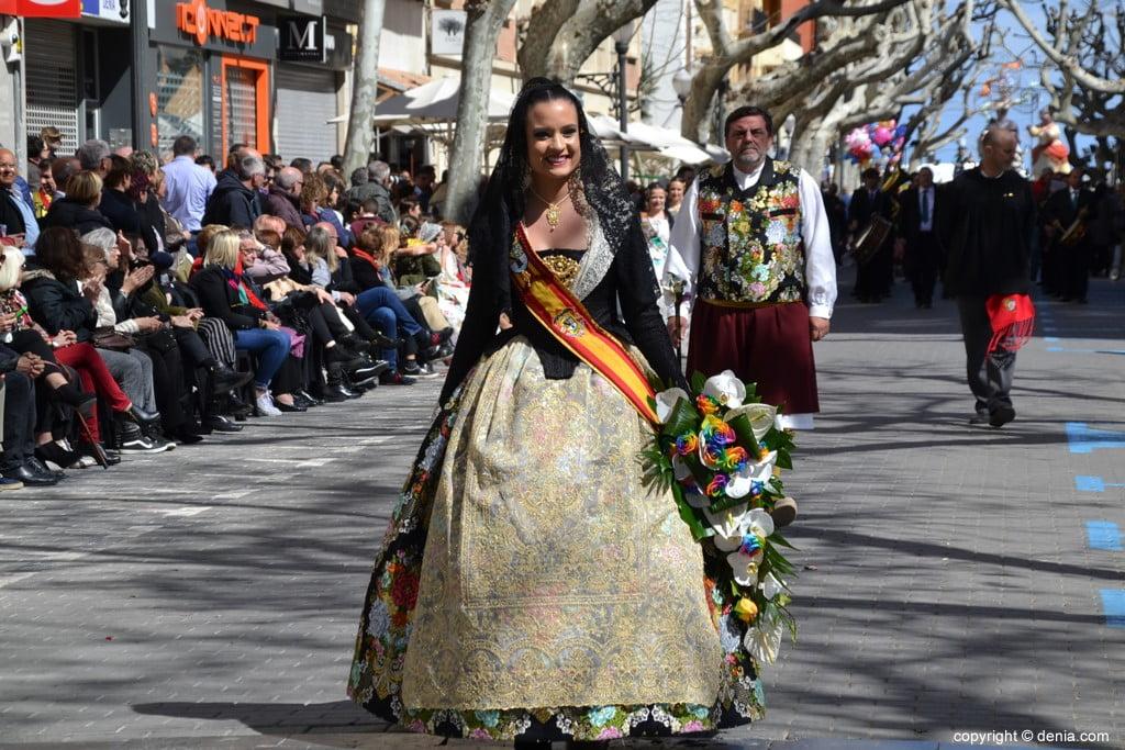Offering Fallas Dénia 2019 - Amparo Petrie