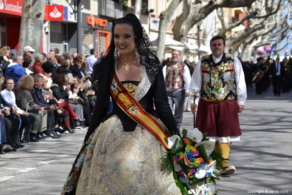 Fallas Dénia Offering 2019 - Amparo Petrie