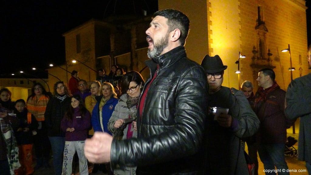 Cant d'Albades a las Falleras Mayores de Dénia 2019