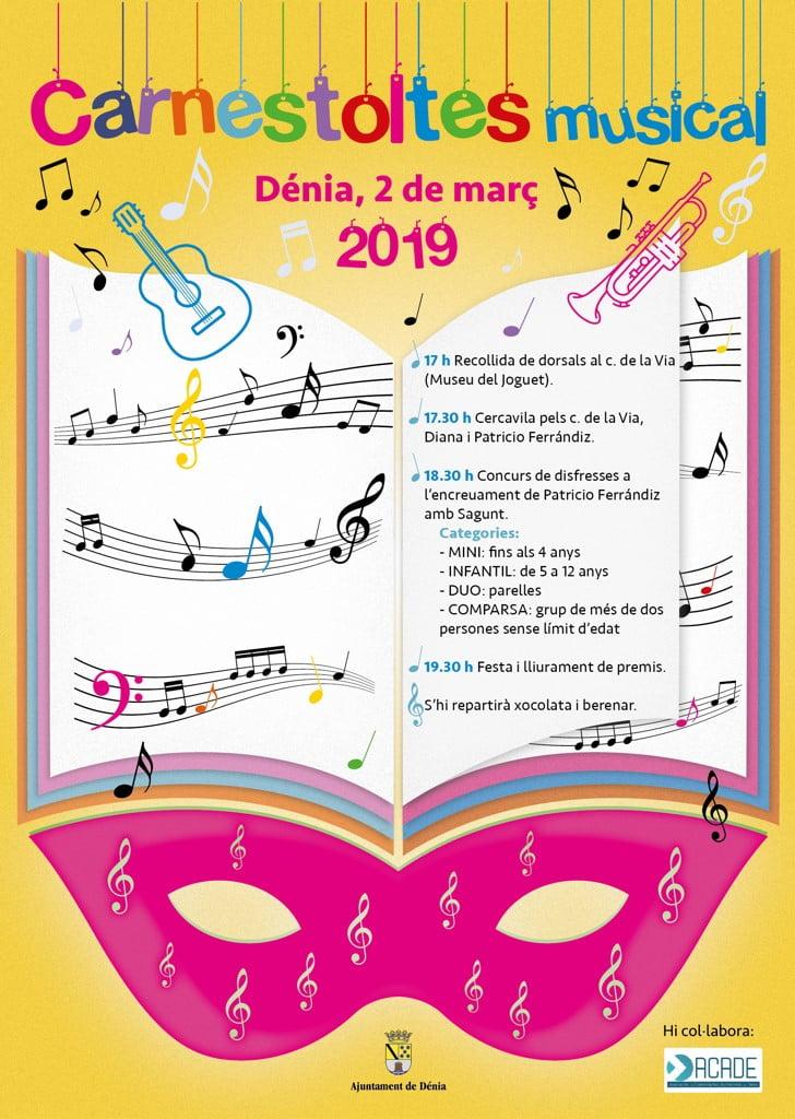 Carnaval 2019 en Dénia