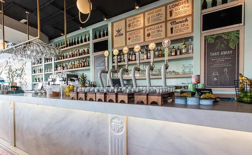 Grifos de cerveza – Restaurante Ammos