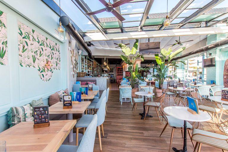 Comedor abierto y agradable en Jávea - Restaurante Ammos