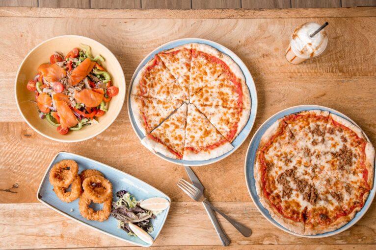 Comer pizza en Javea - Restaurante Ammos