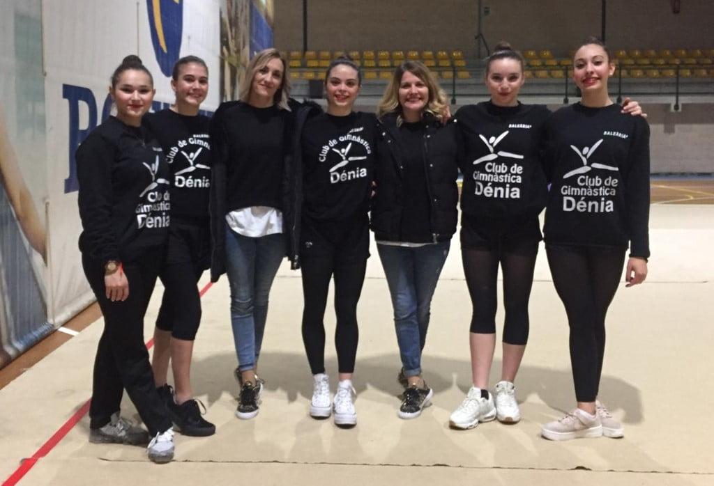 Conjunt Sènior Club Dénia seleccionat a la copa d'Espanya