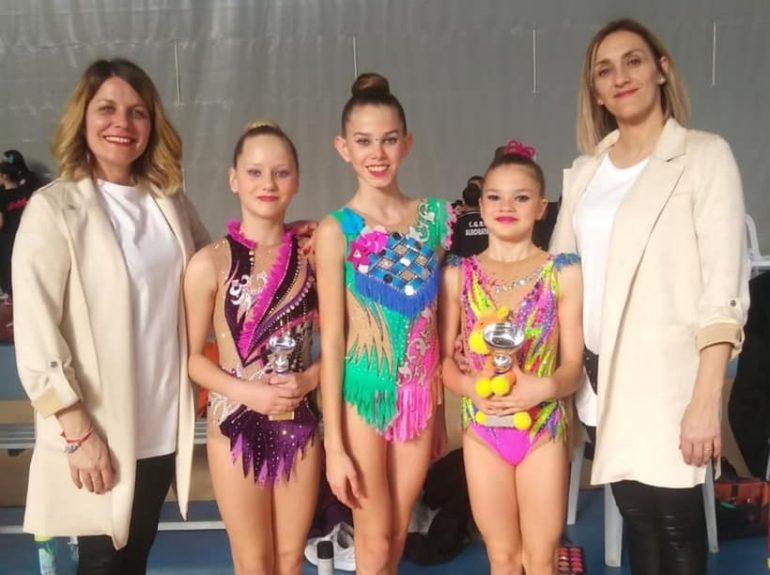 gimnastas individuales denia todas al nacional base