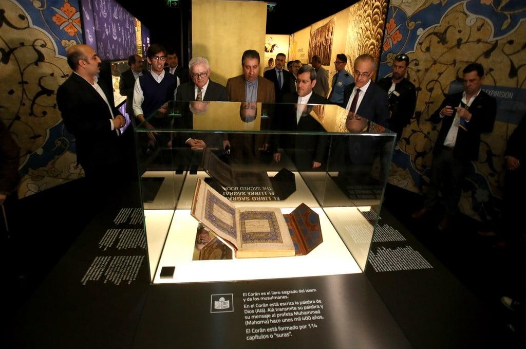 Inauguration de l'exposition sur l'empire perse au MARQ d'Alicante