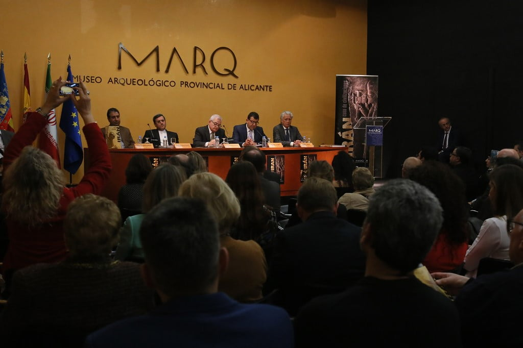 Inauguration de l'exposition sur l'Iran au MARQ