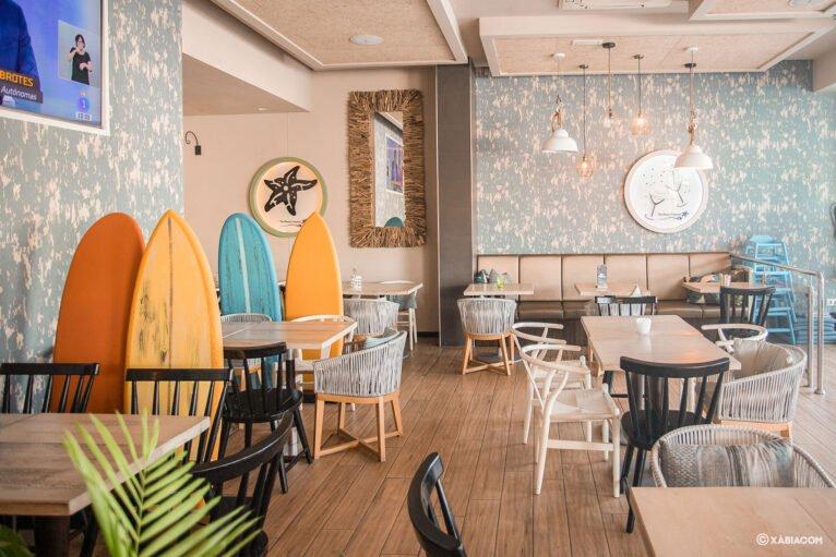 Interior de Restaurante Ammos Moraira