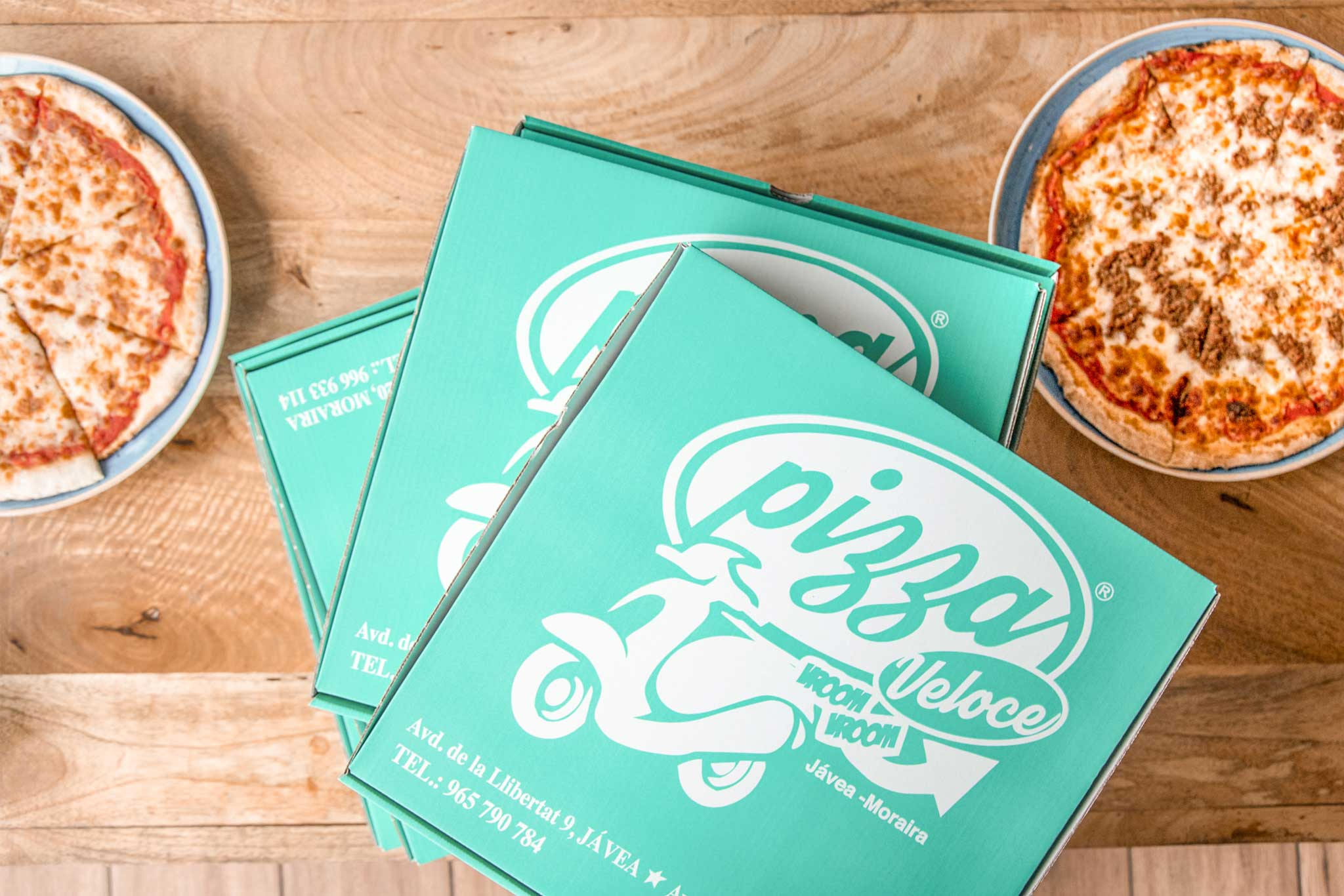Pizza take awey en Javea – Restaurante Ammos