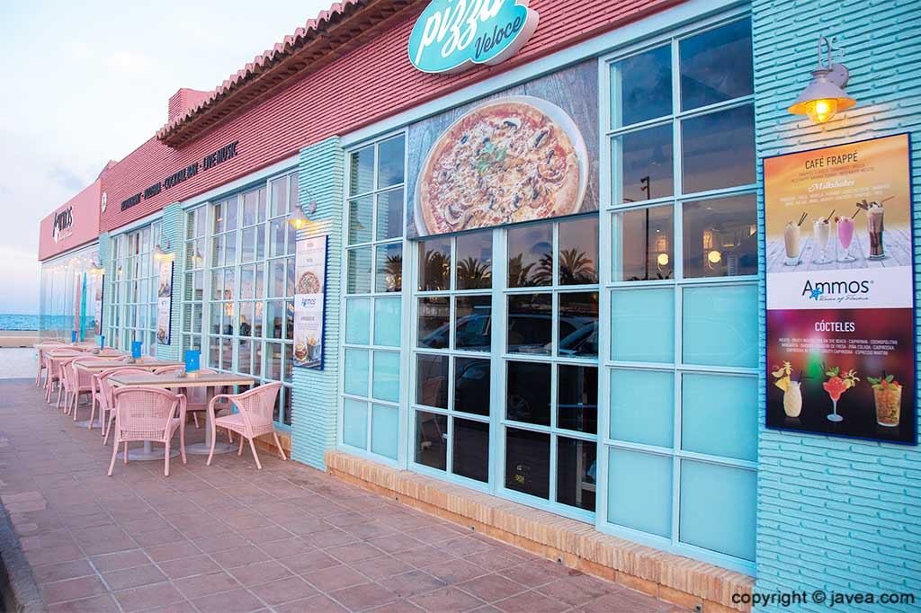 Playa del Arenal Restaurante Ammos