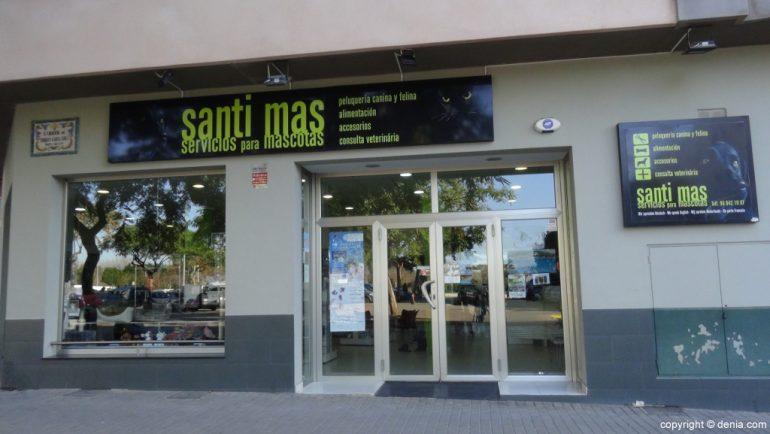 Санти Мас фасад домашние животные Дения