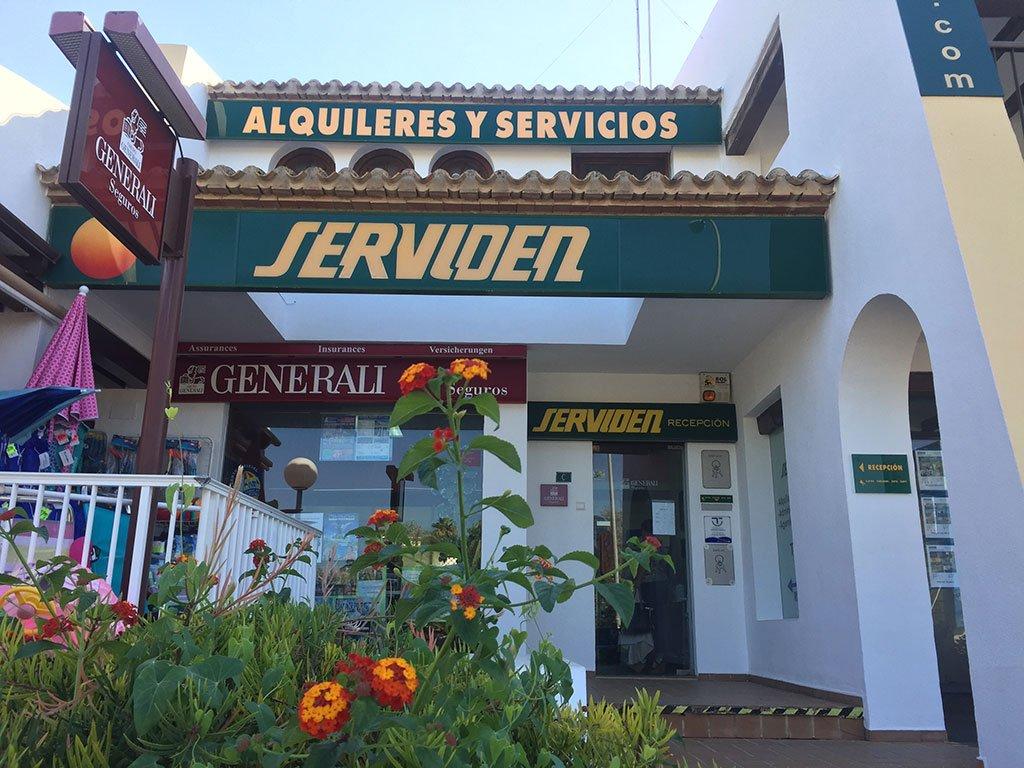 Serviden entrance in Dénia