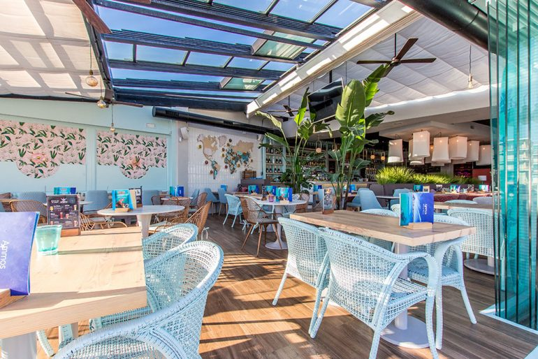 Restaurante con terraza en Jávea - Restaurante Ammos