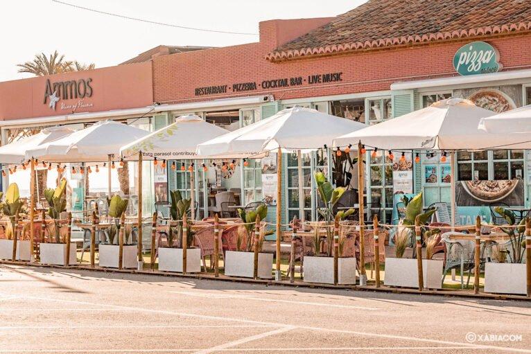 Terraza de Restaurante Ammos Jávea