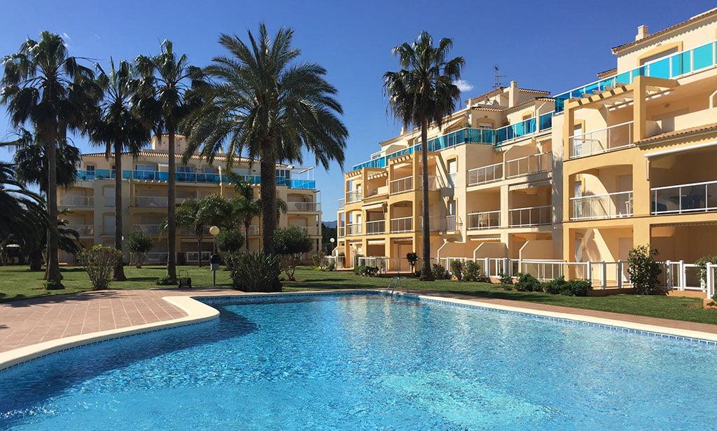 Community housing with pool Serviden Denia