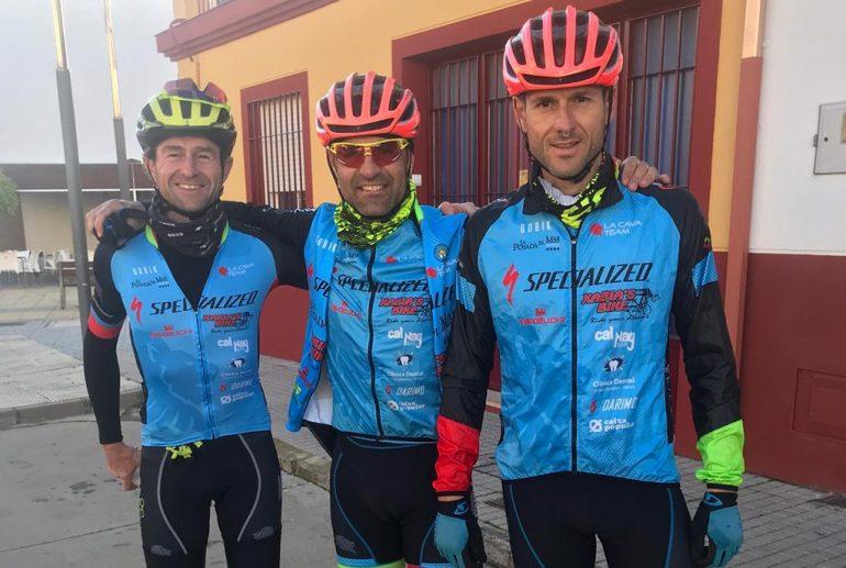 Abraham Collado, Jordi Catalá y Vicente Gil