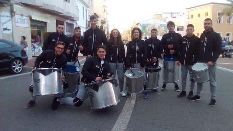 Batucada para despedidas Dénia - Batucada Azäleé Grup de percussió d'El Verger