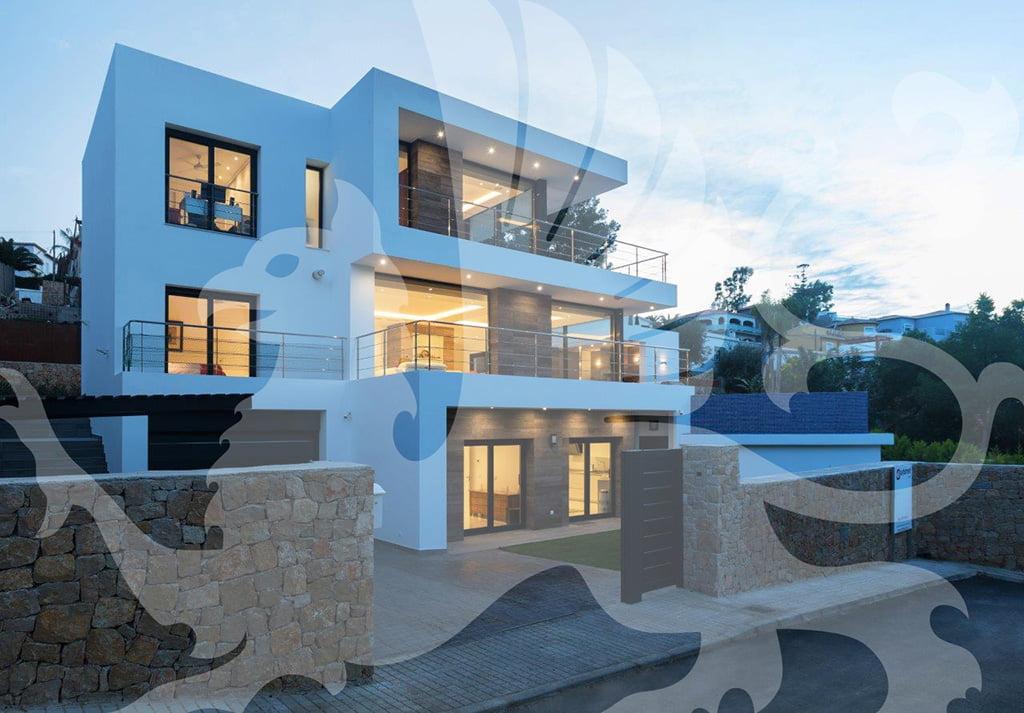 Spettacolare villa Stirling Ackroyd in Spagna