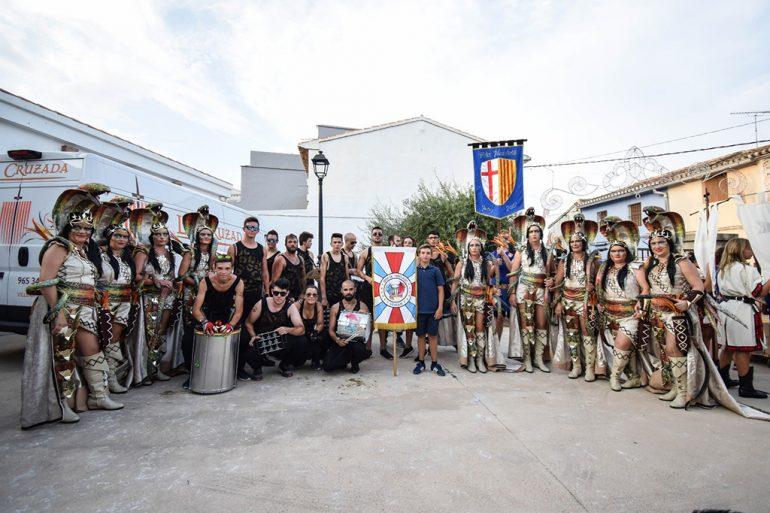Fiestas en Dénia con Batucada Azäleé Grup de percussió d'El Verger