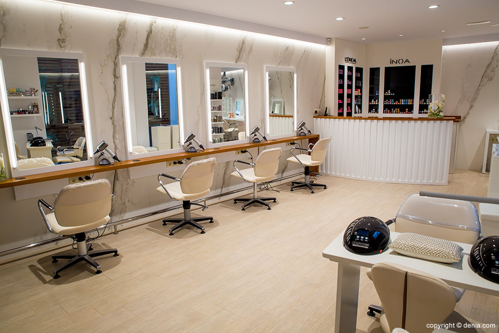 Interior hairdressing Dénia - The Reference Studio